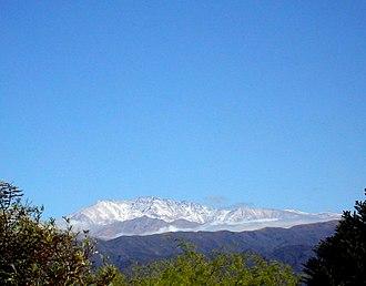 Catamarca Province - Mount El Manchao.