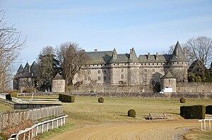 Arnac-Pompadour - Chateau of Arnac-Pompadour