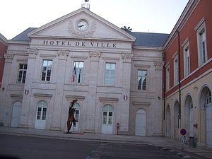Chagny, Saône-et-Loire - Town hall