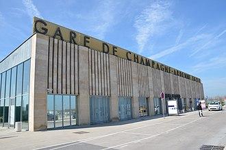 Gare de Champagne-Ardenne TGV - Image: Champagne Ardenne TGV
