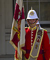 Changing of the Guard colours - Royal Gibraltar Regiment.jpg