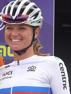 Chantal van den Broek-Blaak Dutch cyclist