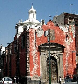 Santo Domingo (Mexico City) - San Lorenzo Church