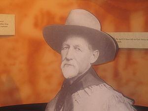 "Charles ""Buffalo"" Jones - Charles Jesse ""Buffalo"" Jones as he appears at the Finney County Historical Museum in Garden City, Kansas"