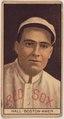 Charlie Hall, Boston Red Sox, baseball card portrait LCCN2008678015.tif