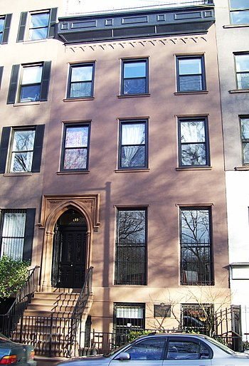 The Gothic Revival building at 151 Avenue B, b...