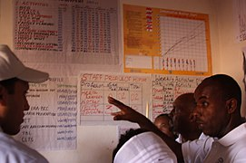 Charting Community Health at Health Post in Oromia (9502384246).jpg