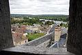 Chateau de La Roche-Guyon.Vue du Pigeonnier sur le village..jpg