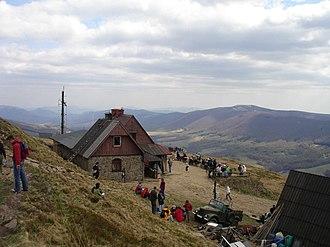 Bieszczady County - Image: Chatka Puchatka 2007 maj