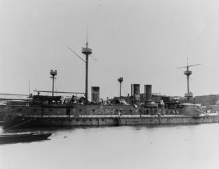 Chinese ironclad <i>Zhenyuan</i> ship class