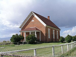 Chesterfield, Idaho - Chesterfield LDS Meetinghouse