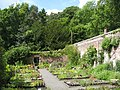 Chesters Walled Garden - parts of the walls, and plants for sale - geograph.org.uk - 1461084.jpg