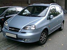 Px Chevrolet Rezzo Front