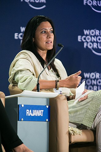 Chhavi Rajawat - Chhavi Rajawat at the World Economic Forum on India 2012