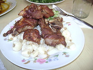 Chicharrón - Chicharrón from Huaraz, Ancash Region, Peru.