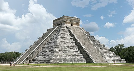 The El Castillo pyramid, at Chichen Itza, Mexico Chichen Itza 3.jpg