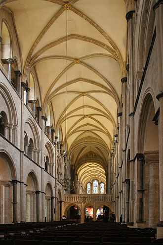 Hilary of Chichester - Image: Chichester Cathedral nave 6445