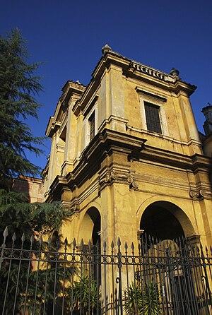 Santa Bibiana - Santa Bibiana façade