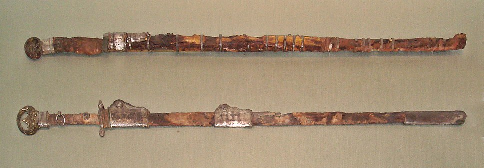 Chinese swords Sui Dynasty about 600 found near Luoyang