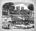 Cholera; Southenhay burial ground, Exeter. Wellcome L0008615.jpg