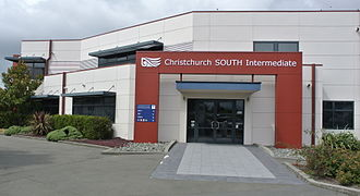 Christchurch South Intermediate - Image: Christchurch South Intermediate