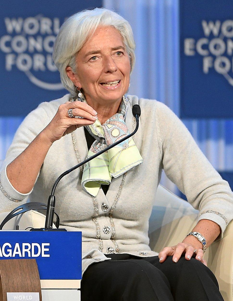 Christine Lagarde World Economic Forum 2013 (cropped)