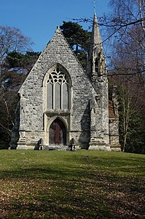 Thorndon Park Chapel Church in Essex, England