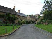 A backstreet in Church Enstone