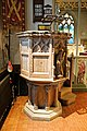 Church of St Andrew, Nuthurst, West Sussex - pulpit 02.jpg