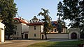 Church of St Florian-vicarage (1909, designed by arch. Franciszek Maczynski), 1b Warszawska street, Krakow, Poland.jpg