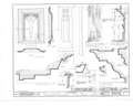 Church of the Holy Family, State Route 157, Cahokia, St. Clair County, IL HABS ILL,82-CAHO,1- (sheet 8 of 9).png