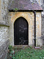 Church of the Holy Innocents, High Beach, Essex, England - tower east door.jpg