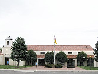 Cibola County, New Mexico - Image: Cibola County New Mexico Court House