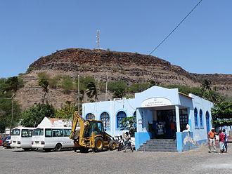 Ribeira Grande de Santiago, Cape Verde - Municipal hall of Ribeira Grande de Santiago