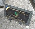 Cimetière de Villefranche-sur-Saône - Plaque Anciens du Maquis de l'Azergues.jpg