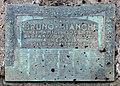Cimitero di trespiano, lapide a bruno bianchi, posta dagli amici, 1923.jpg