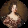 Circle of Largilliere - Marie Thérèse de Bourbon, Princess of Conti, pair.png