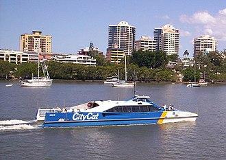 Transdev (historic) - CityCat ferry in Brisbane