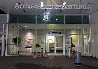 City of Derry Airport - Airport entrance