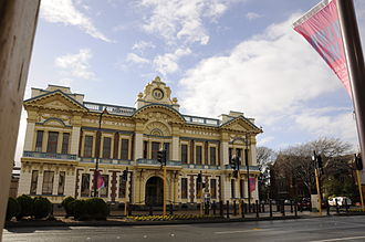 Invercargill - Civic Theatre, the town hall of Invercargill – built in 1906.