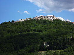Panoramic view of Civitella Messer Raimondo