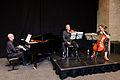 Classical music at foyer wikimania 2014 6701.jpg