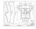 Clifford Miller House, State Route 23, Claverack, Columbia County, NY HABS NY,11-CLAV,2- (sheet 2 of 14).png