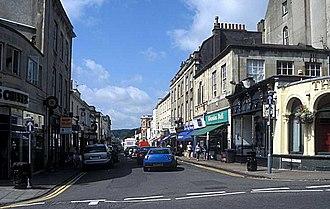 Clifton, Bristol - Princess Victoria Street lies at the heart of Clifton Village