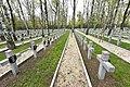 Cmentarz Wojskowy na Powązkach Groby poległych w wojnie bolsko-bolszewickiej.jpg
