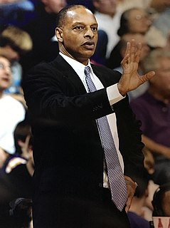 Trent Johnson American college basketball coach