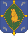 Coat of Arms of Bizhbulyak rayon (Bashkortostan)