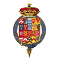Coat of arms of Christopher Monck, 2nd Duke of Albemarle, KG.png