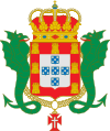 Coat of arms of the Kingdom of Portugal (Enciclopedie Diderot).svg