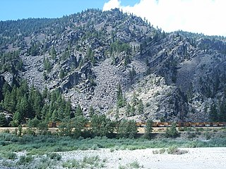 Coeur dAlene Mountains Northernmost portion of the Bitterroot mountain range in the northeast United States